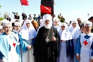 сестры милосердия марфо-мариинской богодельни и Агафангел