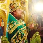 Божественная литургия на праздник Святой Троицы