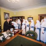 Зустріч із сестрами милосердя